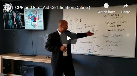 Online CPR Training