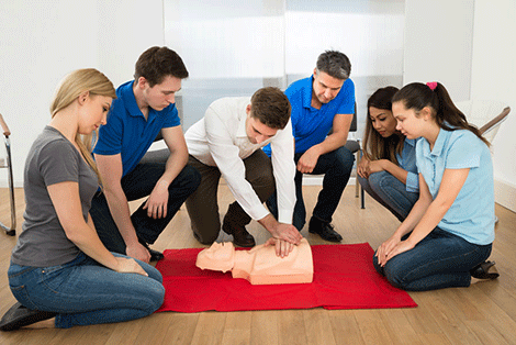 cpr first aid online